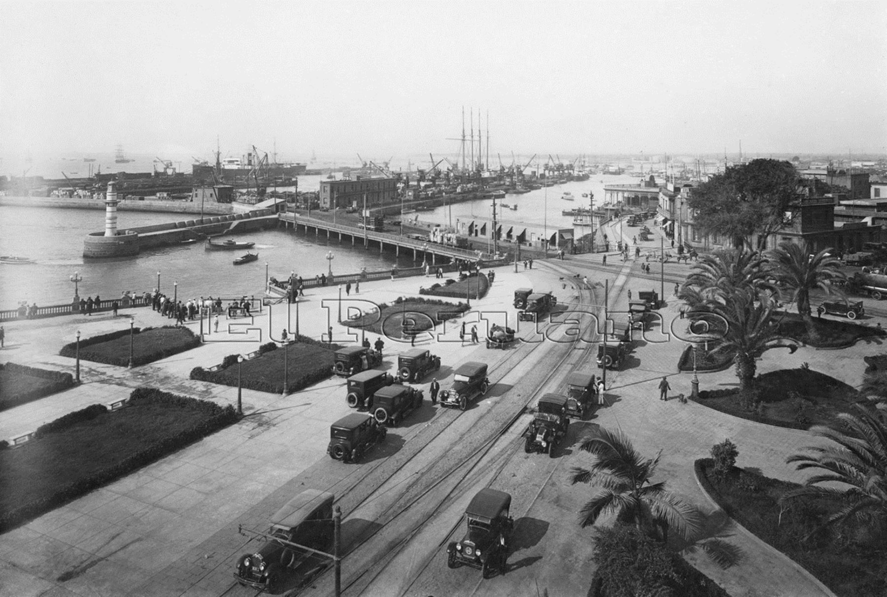 Callao port view circa 1930